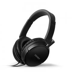 漫步者 H841P 耳机头戴式电脑手机耳麦HIFI重低音带麦克风 黑色