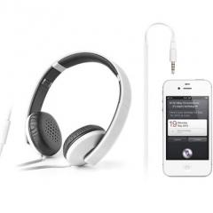 漫步者 H750P 手机耳机 头戴式潮流耳麦电脑MP3重低音耳机 白色