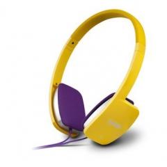 漫步者 K680 耳机头戴式潮笔记本电脑耳麦游戏耳机麦克风 黄色