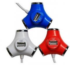 SSK飚王 水管 SHU012 USB分线器 HUB 高速扩展口 4口集线器(颜色随机)