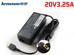 联想 20V3.25A    笔记本电源适配器 【扁口】