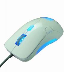 优想-幽灵S-816 网吧专业游戏鼠标 白色 U口