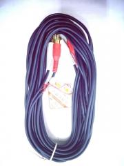 蓝海E线 2RCA-2RCA 音频线  5米