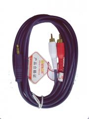 蓝海E线 3.5-2RCA 音频线 3米