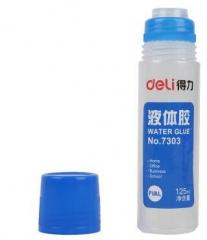 得力 7303 通用型 液体胶水 125ML/支大只装