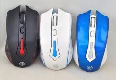 清华同方键鼠 T4 无线游戏笔记本电脑鼠标 白色 无线