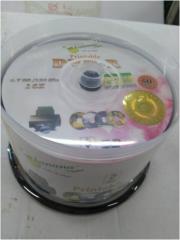 香蕉 DVD 打印面光盘(50/桶)