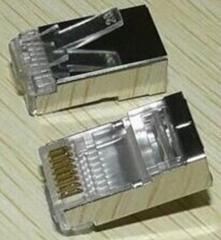 黑鹰水晶头 H-V884 网络专用高品质水晶头