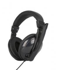 声丽 ST-2628 笔记本 头戴式游戏耳麦(带麦克风重低音) 黑色