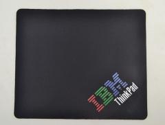 鼠标垫-IBM  210*250*4办公黑色鼠标垫