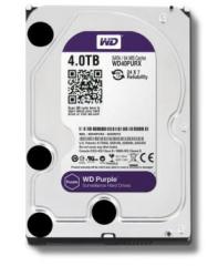 西部数据WD 4TB 西数紫盘4000G 监控硬盘(WD40PURX)
