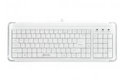 清华同方键鼠 K-899 电脑台式机USB小单键盘 白色 USB