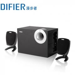 漫步者  R201T06  2.1多媒体台式电脑音箱重低音炮 黑色