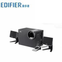 漫步者 R201T北美版 蓝牙5.0多媒体电脑音箱低音炮 黑色