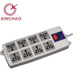 鑫超 XC-9827J  八孔有线 新国标插排 2米