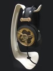 网吧电竞耳机支架 白色