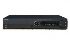 海康威视 DS-7932N-E4/16P 32路高清NVR带16口POE录像机 4盘位