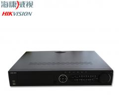 海康威视 NVR DS-7916N-K4 16路网络硬盘录像机 高清监控H.265 4盘位