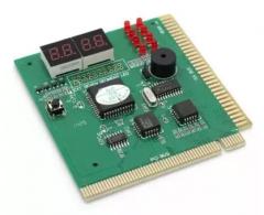 电脑故障检测卡 PCI主板诊断卡四位(大)