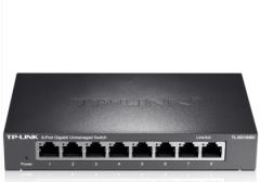 TP-LINK TL-SG1008D 8口全千兆交换机【不退不换 正常售后】