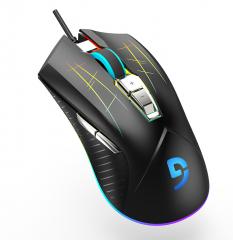 富勒 G93S 光磁  微动  RGB跑马灯竞技鼠标cf lol电竞鼠标