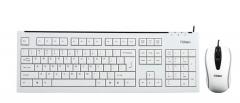 富勒 A120G 无线节能纤薄键鼠套装 防水静音键盘 白色