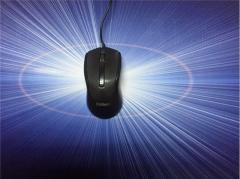 富勒 L200 商务办公笔记本有线光电单鼠标 USB口 黑色 USB