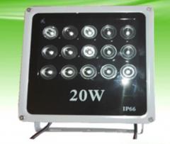 监控补光灯 20W 红外补光灯 15颗超大功率台湾晶元红外灯