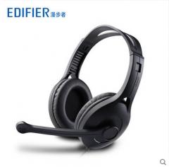 Edifier/漫步者 K800 单孔版头戴式耳麦笔记本手机带麦话筒耳机