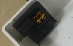 黑鹰威视 防水盒插座(配700塑盒)