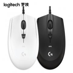 罗技 G90 有线USB光电家用办公台式电脑笔记本宏编程电竞游戏鼠标 白色 USB