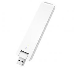 水星 MW301RE 300M无线网卡扩展器 USB接口WIFI信号放大器