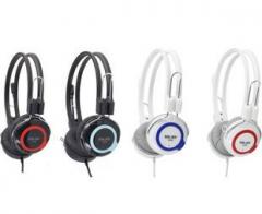 声籁 V88 头戴式电脑耳机游戏耳麦带麦克风 颜色随机