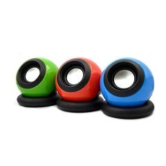 乐儿飞 M008 魔法球  USB口笔记本电脑小音箱 【50/箱】 红色