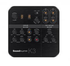 创新 K3 电脑笔记本K歌喊麦外置声卡【不退不换 正常售后】