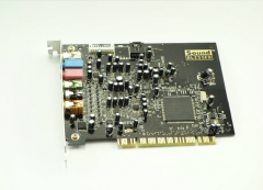 圣音 A4 7.1声道PCI内置声卡【不退不换 正常售后】