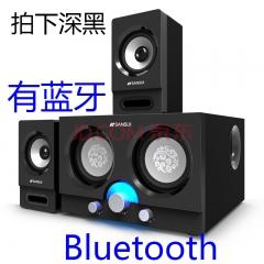 山水 20A【蓝牙版】 2.1低音炮音箱 黑色