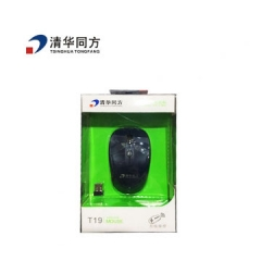 清华同方 T19 无线充电鼠标 黑色 无线