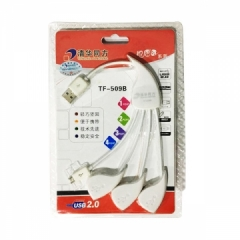 清华同方 TF509B   USB分离器 3口扩展器HUB 安卓充电线 数据线