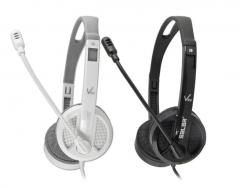 声籁 V38V 手机笔记本耳机头戴式游戏耳麦【单插头】 白色