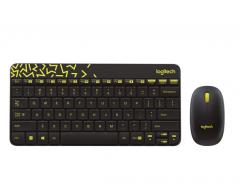 罗技 MK245 游戏电竞办公无线键盘鼠标套装 黑色 无线
