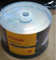 KODAK柯达 CD-R刻录光盘【50片】