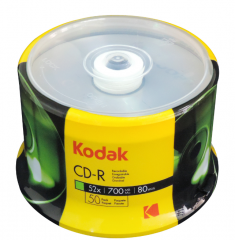 KODAK柯达 DVD刻录光盘4.7G【50片】