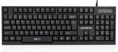 爱国者 W901 商务办公有线键盘【20/件】 黑色 USB