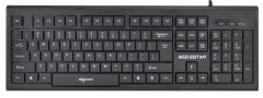 爱国者 W903 时尚办公有线键盘【20/件】 黑灰色 USB