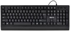 爱国者 W910 大气外观游戏办公有线键盘【20/件】 黑色 USB