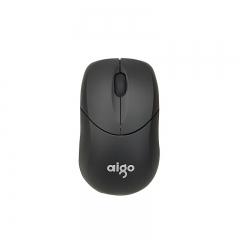 爱国者 Q700 迷你便携时尚商务办公无线鼠标【60/件】 黑色 无线
