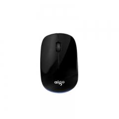 爱国者 Q701 台式 笔记本商务无线鼠标【60/件】 黑蓝色 无线
