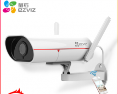 萤石 CS-C5S-3C2WFR H.265编码室外无线网络智能监控摄像头 焦距4mm