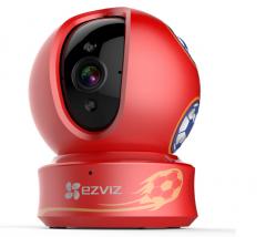 萤石 CS-C6H-3B2WFR-Cup 足球版200万无线插卡云台网络摄像机